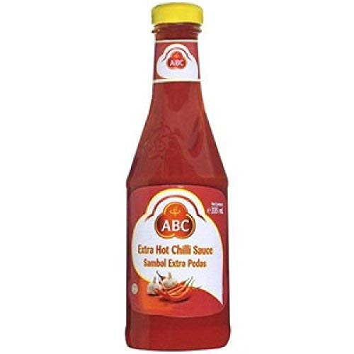 - ABC Extra Hot Chili Sauce, 11.3 Ounce