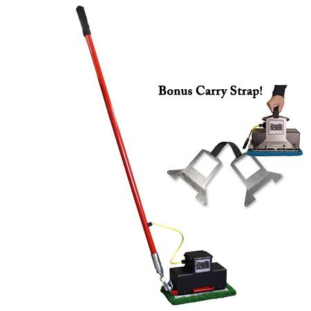 COMBO! Square Scrub EBG9 Doodle Scrub Floor Preparation Cleaning Machine W/ Carry Strap!