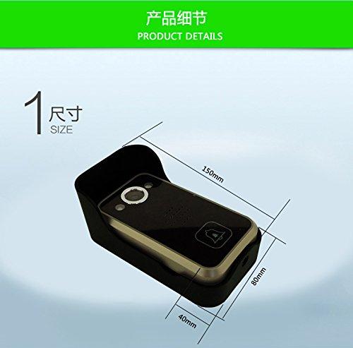 WiFi Wireless Video Intercom Doorbell Wireless Doorbell Mobile Phone APP Remote Control Unlock Remote Monitoring by JIA (Image #2)