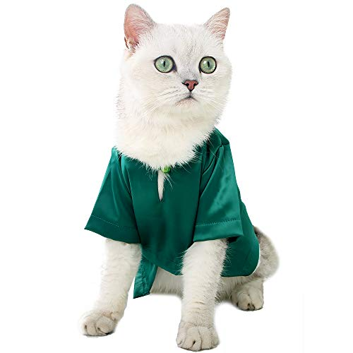 EVEL Cat Vampire Halloween Costume Holiday Dressing Up Cloak with Button for Kitten Small Medium Outfit Cosplay Decoration Party Suit