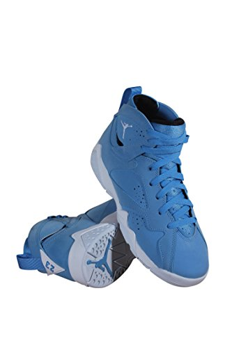 Jordan Retro 7 Pantone University Blue/White-White (Big Kid) (3.5 M US) by Jordan