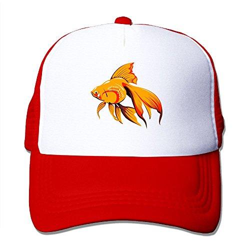 Winter Fashion Hat Men Women Adjustable Baseball Cap Goldfish