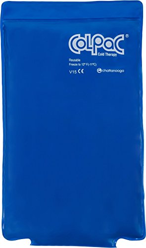 Chattanooga ColPac - Blue Vinyl - Half Size - 7.5 in x 11 in (19 cm x 28 cm)
