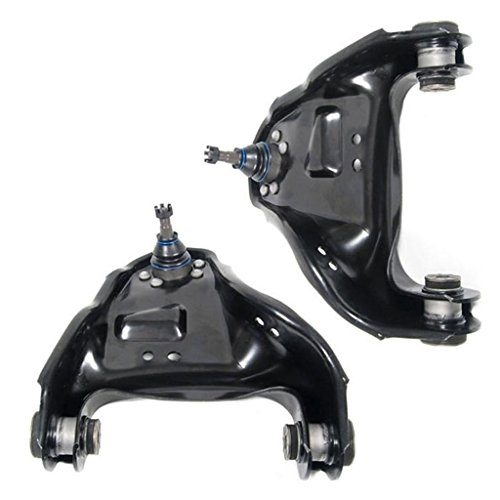 Detroit Axle - 4x4 Models Only - Both (2) Front Upper Driver & Passenger Side Control Arm and Ball Joint Assembly - 10-year Warranty...