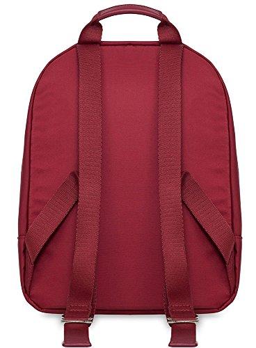 Knomo Mini beachamp Rucksack für bis zu 25,4cm Laptops und Tablets Casual Tagesrucksack, 30cm, 10L, kirsche