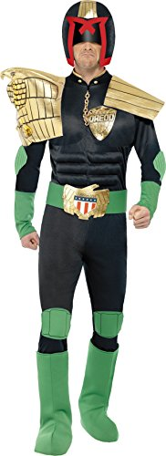Smiffys Judge Dredd Costume - Medium ()