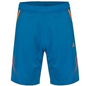 adidas Performance Mens Samba Climalite Shorts - Blue - X-Small