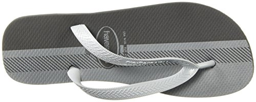 Havaianas Mens Top Conceitos Sandale Flip Flop Noir / Glace Gris