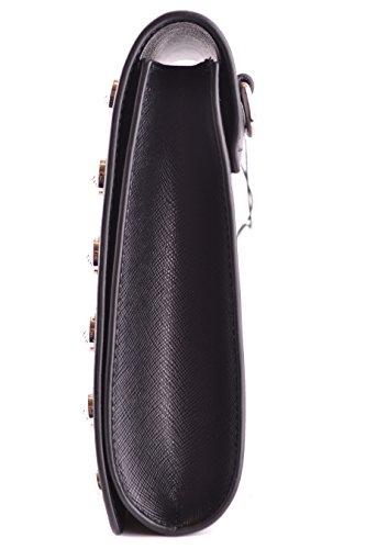 Versace Mujer FBD1192FVSAF460N Negro Cuero Clutch