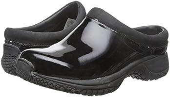 eff8de46 Merrell Women's Encore Moc Pro Shine Slip-Resistant Work Shoe, Black ...