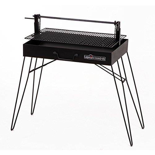 Laguna Argentino Porcelain Coated Steel Charcoal Portable Grill by Laguna