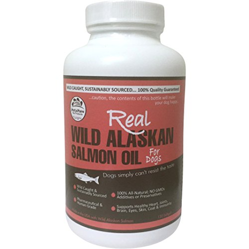 Petzpaw fish oil supplements pure wild alaskan salmon oil for Dog food with fish oil