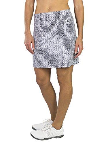 Herringbone Womens Skirt - Jofit Mina Skort Long- Herringbone