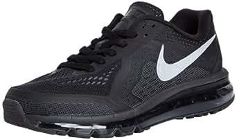 Nike Men's Air Max 2014 Blck/Rflct Slvr/Anthrct/Drk Gr Running Shoe 10 Men US