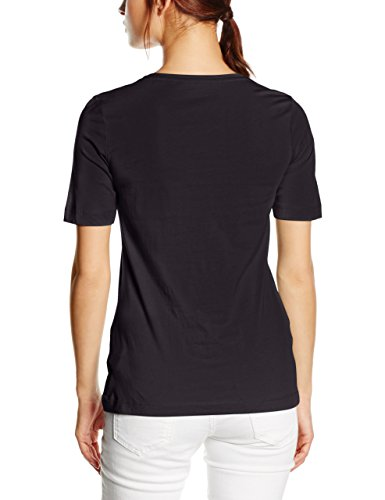 s.Oliver Single Jersey - camiseta Mujer negro (black 9999)