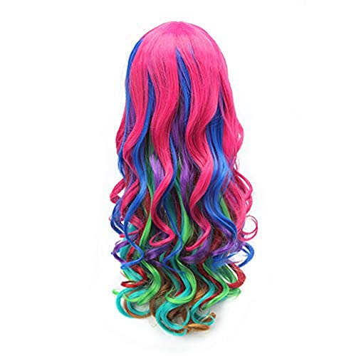 AISHN Long Wavy Hair Wigs 31.5