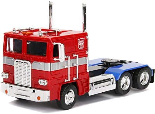TRANSFORMERS 5 The Last Knight Movie Metals Diecast Vehicle 1//24 Optimus Prime