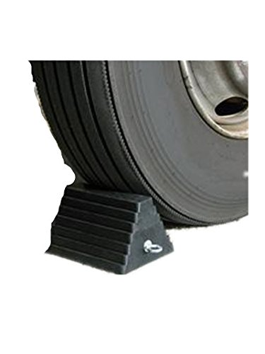 Chock Wheel Tire Rubber 5.5 Inch X7 Inch X9 W/Eyebolt (Nesco Jack)