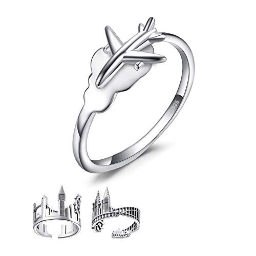Top 10 recommendation airplane ring sterling silver 2020