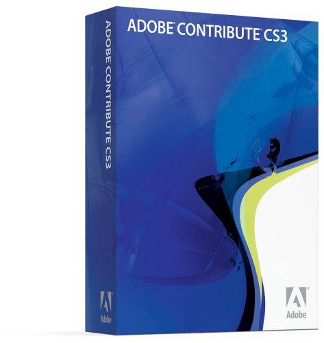 Adobe Contribute CS3 Upgrade [Mac] [OLD VERSION]