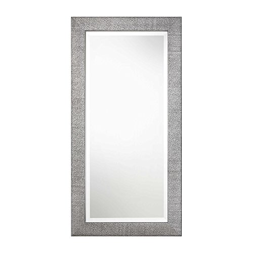 Uttermost Contemporary Wall Mirror in Metallic -