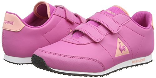 Le Coq Sportif Racerone Ps Syn Lea, Mädchen Sneakers Pink (ibis Rose)