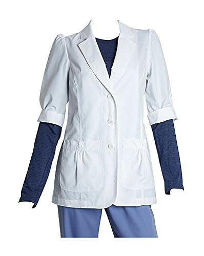 Barco Coat Lab - Lab Coats by Barco Uniforms Women's Short Sleeve 28