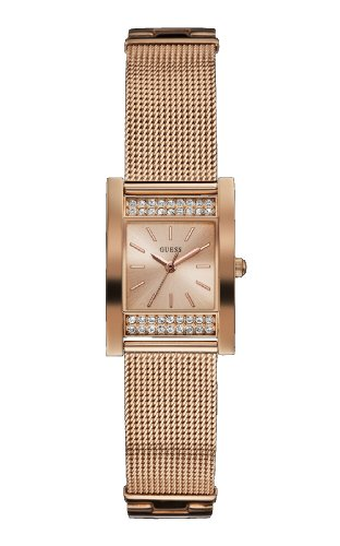 Guess Rose Gold Ladies Watch Crystal W0127L3