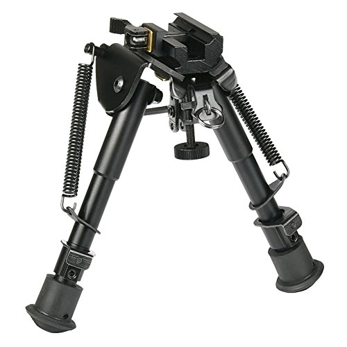 "MidTen 6""-9"" Tactical Rifle Bipod Spring Return with Quick R"