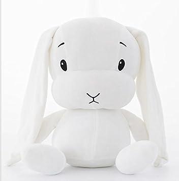 Lindo y Suave Creativo Afortunado Conejo Peluches Relleno ...