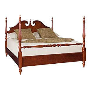 American Drew Cherry Grove Queen Low Poster Bed