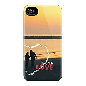New Iphone 4/4s Case Cover Casing(is This Love) by Maris's Diary