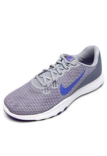 3620171a6ed Nike Women s W Flex Trainer 7 Drk Sky Blu Persian VLT Multisport Training  Shoes-