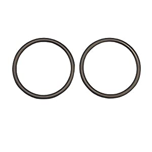 Topind 3″ Large Size Aluminium Baby Sling Rings for Baby Carriers & Slings of 2 pcs Brown