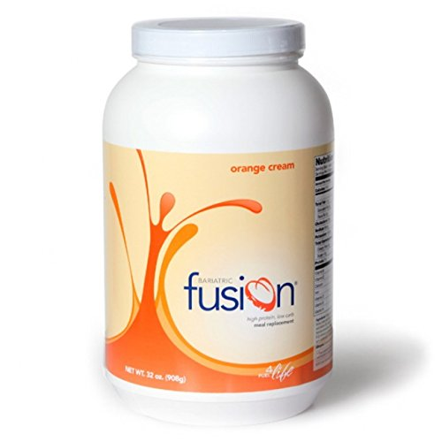 Bariatric Fusion Meal Replacement Protein 2lb Tub Orange Cream for Gastric Bypass & Sleeve (Orange Cream Filling)