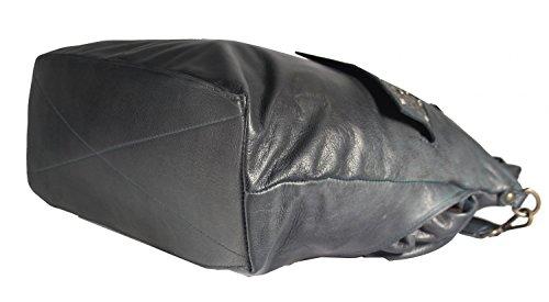 Rodhschild - Bolso de tela para mujer marrón marrón claro dunkelpetrol