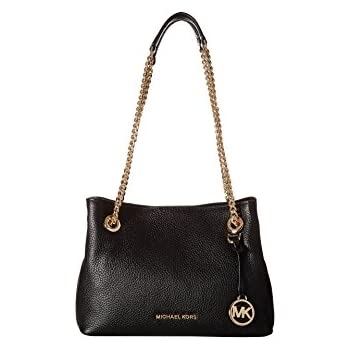 72aa86e6c0ca Amazon.com  Michael Kors Women s Jet Set Chain Medium Messenger ...