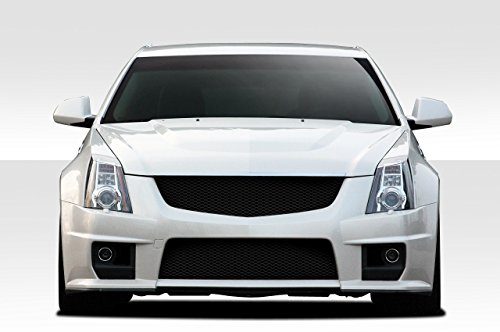 Duraflex 2008-2013 Cadillac CTS CTS-V CTS-V Look Front Bumper Cover - 1 Piece