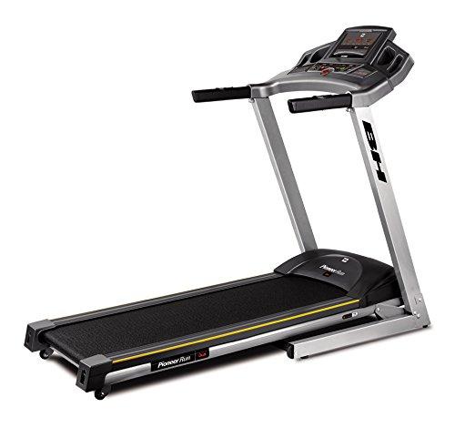 BH Fitness PIONEER RUN DUAL+ DUAL KIT WG6483 laufband 1-18 km/h 2,75 ps motor elektrische steigungsverstellung 130 x 40 cm lauffläche 13 verschiedene programme