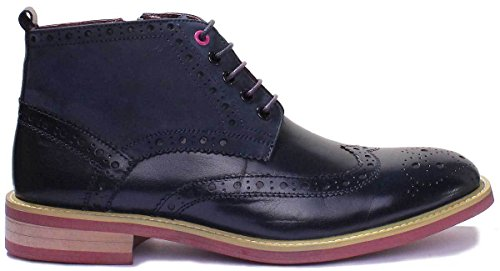 Justin Reecematthew Stivali Brogue Uomo Blu navy We1 47 Eu