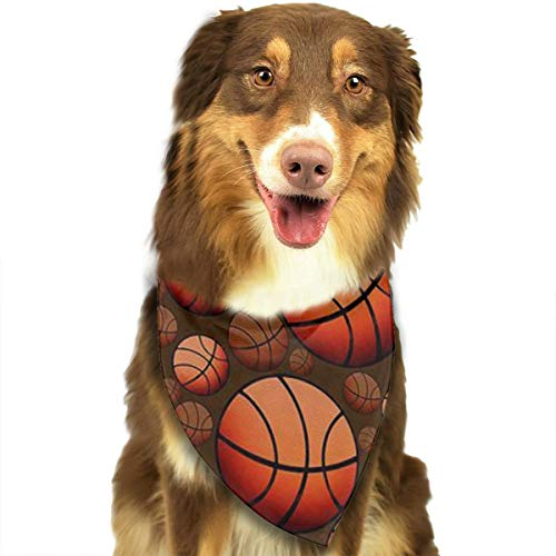 FRTSFLEE Dog Bandana Basketball Mode Scarves Accessories Decoration for Pet Cats and Puppies -