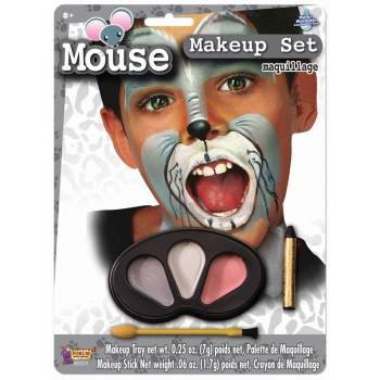 Forum Novelties Mouse Makeup Kit for Children - Halloween Animal Face Paint for Kids -