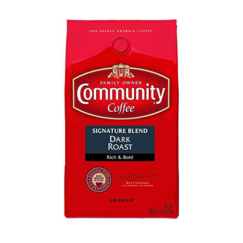 Community Coffee Ground Dark Roast Signature Blend 40 Oz.