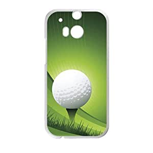 Golfball High Quality Custom Protective Phone Case Cove For HTC M8