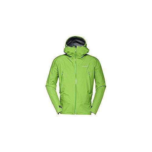 Norrona ノローナ フォルケティン ゴアテックスジャケット メンズ B071HSZ4BT Medium|クリーングリーン クリーングリーン Medium