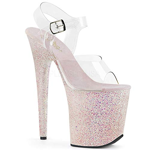 Exotic Ankle Strap - Pleaser Women's Flamingo-808LG Ankle-Strap Sandal