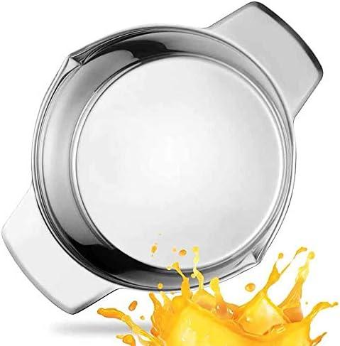 HUAIHUA Exprimidor De Mano Naranja, Fabricante De Jugo De Limón, Exprimidor Manual De Acero Inoxidable Exprimidor De Cítricos Exprimidor De Cítricos