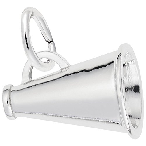 Megaphone Charm In Sterling Silver, Charms for Bracelets and ()