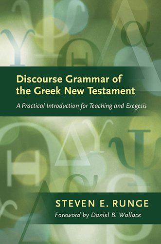 linguistics and new testament interpretation essays on discourse analysis Carroll d osburn, an american scholar  utilizing discourse analysis,  in linguistics and new testament interpretation: essays on discourse analysis.