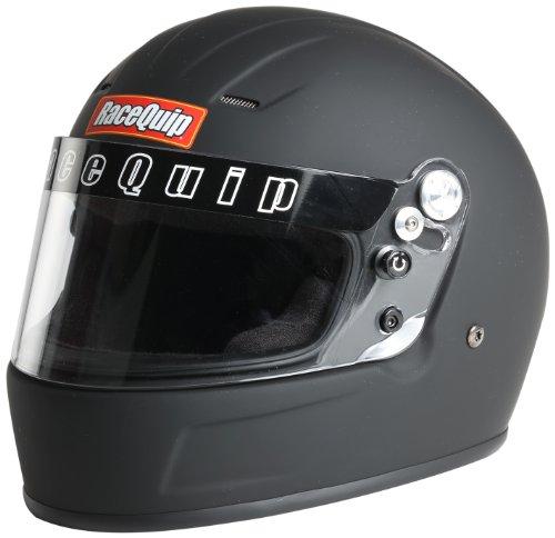 RaceQuip 229999 Flat Black Full Face Helmet